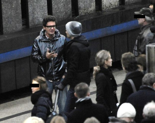 Wojewódzki odprowadza Kammela na pociąg... (ZDJĘCIA)