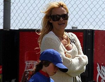 Pamela Anderson z dziećmi