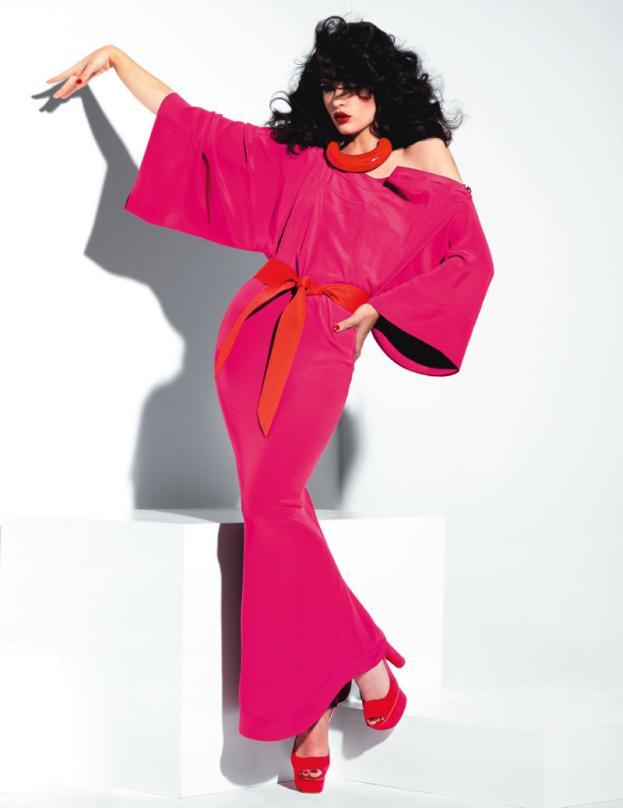 Crystal Renn na okładce Vogue'a! (ZDJĘCIA)