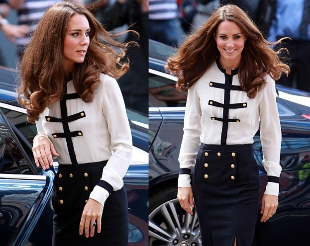 Kate nie będzie ikoną mody, ONA TYLKO KOPIUJE
